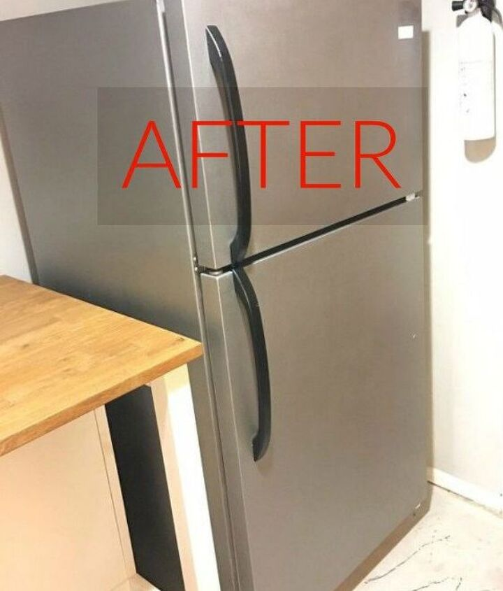 s don t buy new appliances these 9 diy hacks are brilliant, appliances, After A modern stainless steel feel
