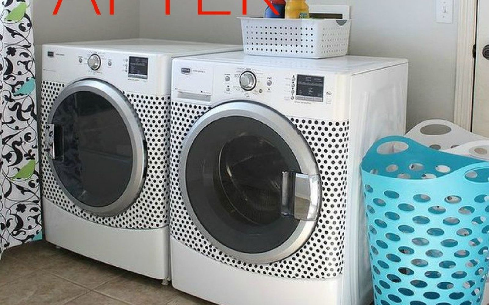 s don t buy new appliances these 9 diy hacks are brilliant, appliances, After A polka dotted matching set