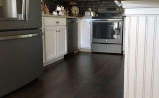 kitchen reveal we re installing 1 120 square feet of pergo , kitchen design
