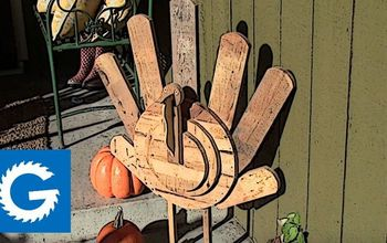 Wooden Turkey Build // Pallet Wood Project