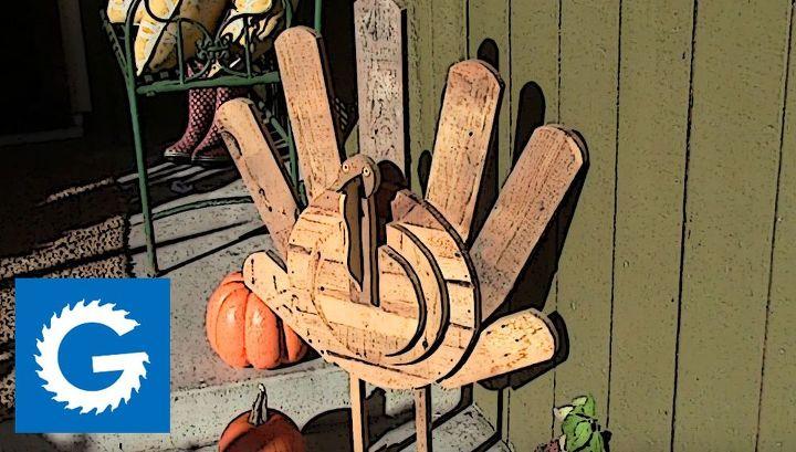 The finished turkey.