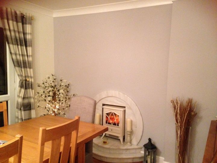 q dining room help , dining room ideas, Dreaded fireplace walk no character
