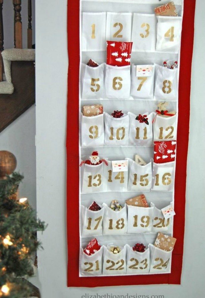 25 Advent Calendar Ideas That Are So Cute Hometalk