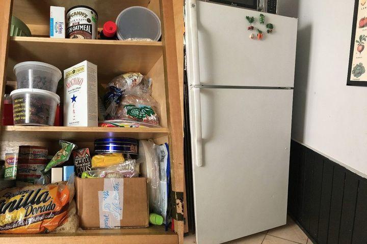 Diy Hidden Storage Canned Food Storage Cabinet Hometalk