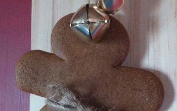 simple gingerbread cookie ornaments, christmas decorations, seasonal holiday decor