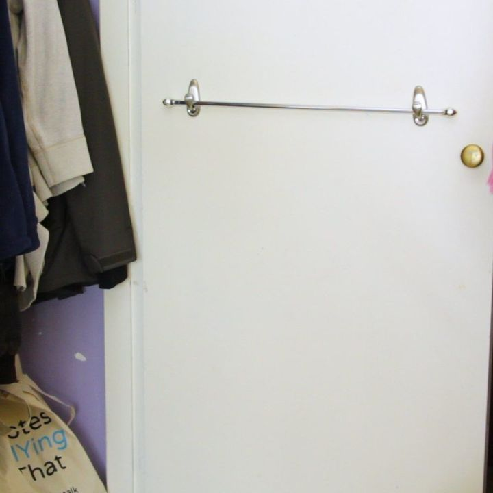 closet door wrapping station, closet, doors