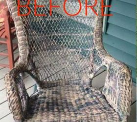 Merveilleux S Make Wicker Trendy Again With These Brilliant Ideas, Painted Furniture,  Before An Old
