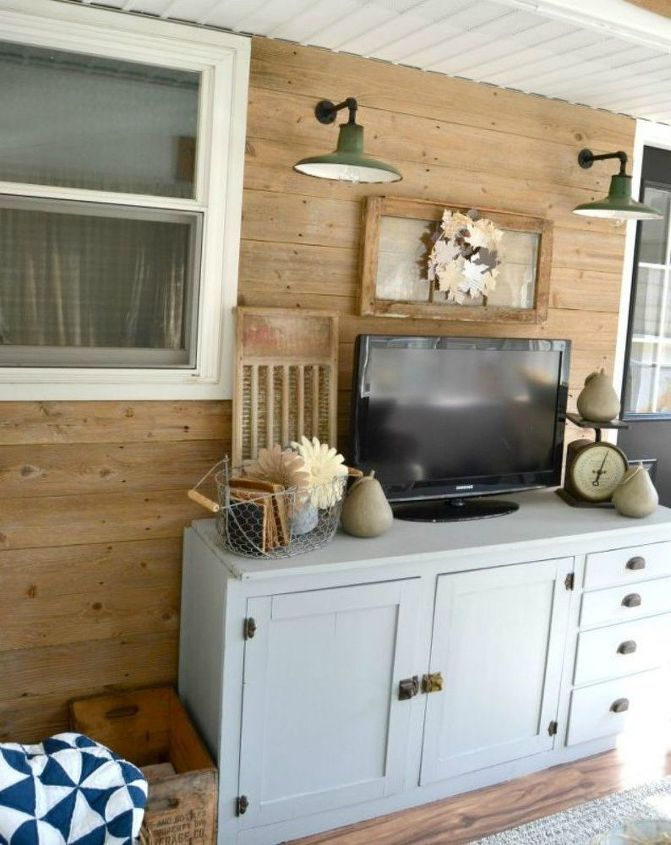 s you never thought of using an old fence like this 12 ideas , fences, As a shiplap wall for your back porch