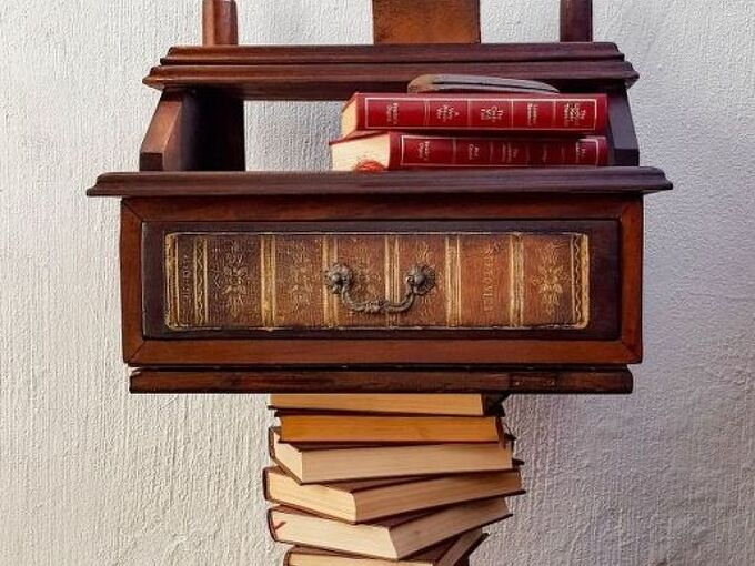 if you don t have a leg to stand on grab a book or three