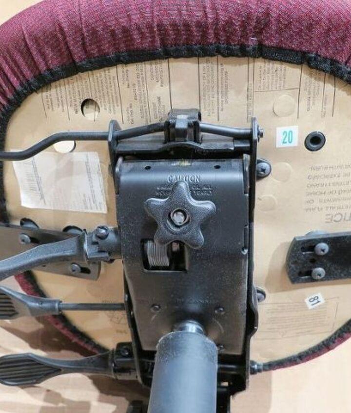 reupholster an office chair, reupholster