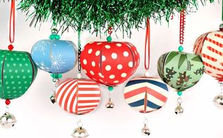 easy paper ornaments pattern included , christmas decorations, seasonal holiday decor