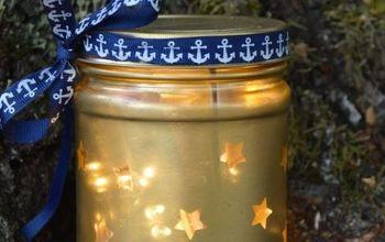 stars in the sky jar lantern, outdoor living