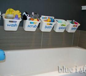 Exceptional Kids Bathroom Storage Ideas Part - 10: Make It All About Bathtime