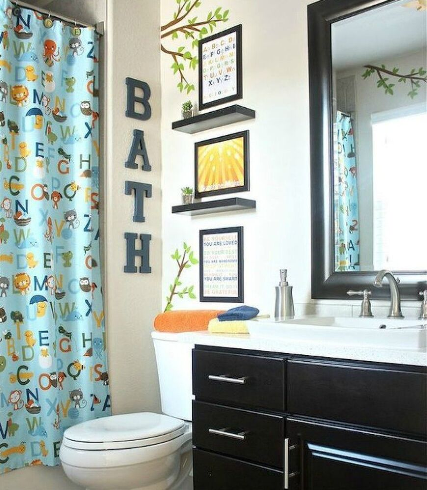 Give Your Kids the Coolest Bathroom With These 13 Jaw ... on Fun Bathroom Ideas  id=40096