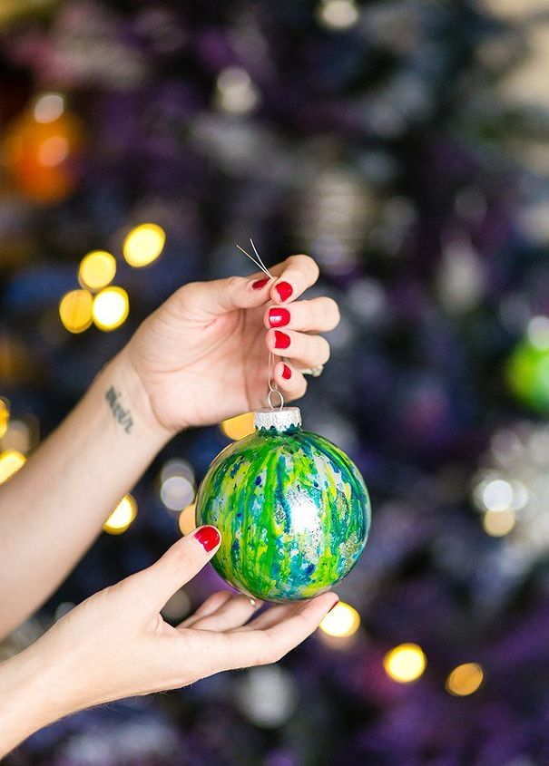 diy galaxy christmas tree