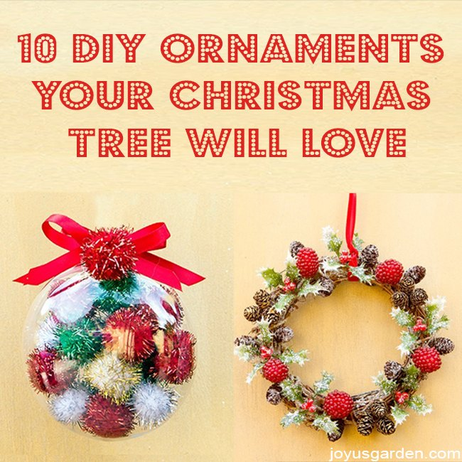 10 diy ornaments your christmas tree will love, christmas decorations, seasonal holiday decor