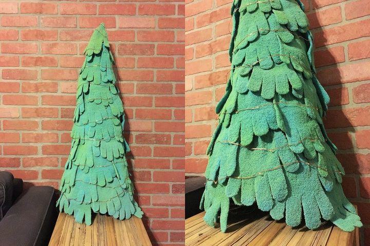 lit spare mitten tree