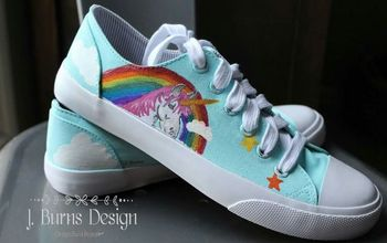 Painted Canvas Sneakers - Perfect Christmas Gift for Teens