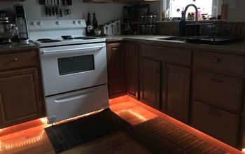 Under-Cabinet Rope Lighting