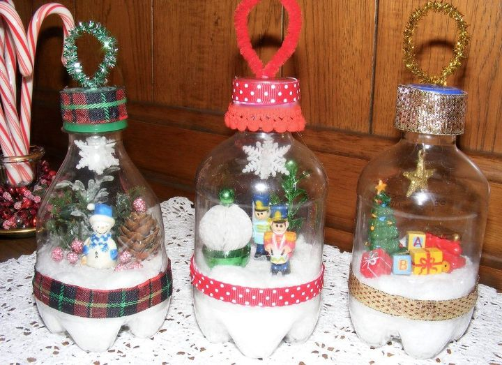 Recycle Bin To The Christmas Tree Composting Go Green Storage Ideas