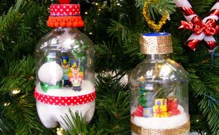 recycle bin to the christmas tree , composting, go green, storage ideas