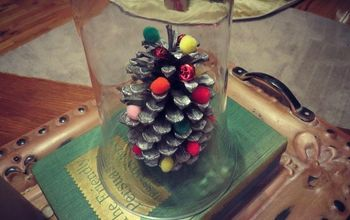 Pinecones and Pompons Make Easy Kid Craft