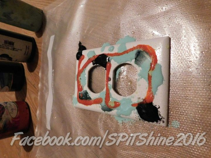 spruce up those plastic switch plates with unicorn spit