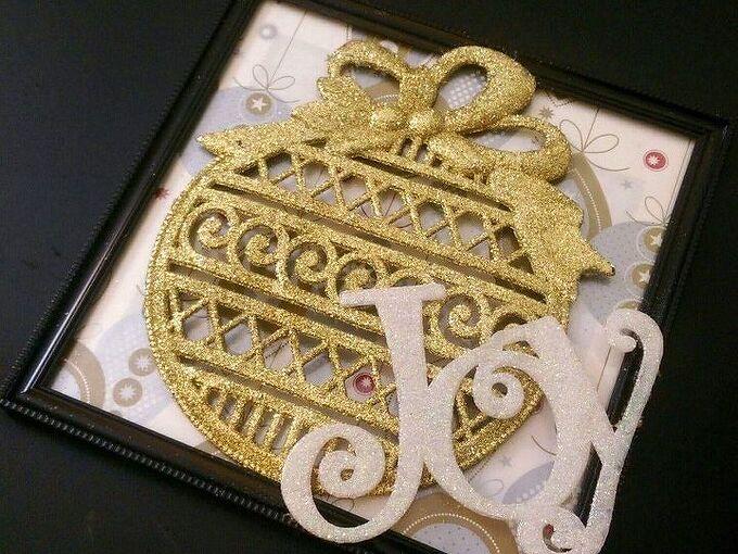 for christmas homemade dollar tree christmas picture frames i made , Dollar Tree craft Koleta Huntsinger