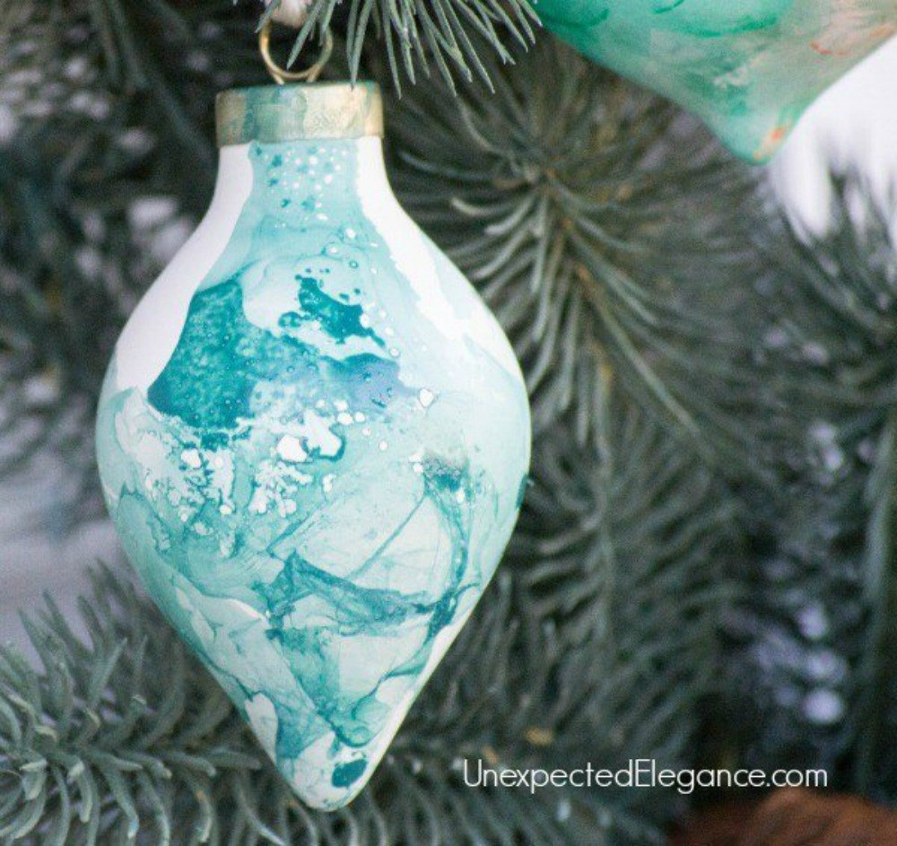 s don t throw away your old nail polish before you see these 14 ideas, Create the perfect colorful ornaments