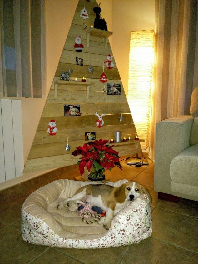 palet christmas tree