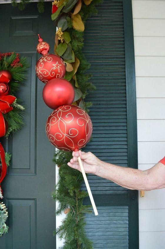 DIY Christmas Ornament Topiary   Hometalk