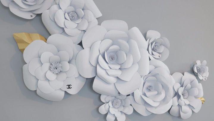 Diy Cardstock Flower Hometalk