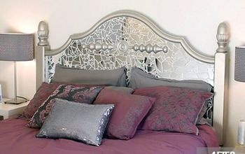 HEADBOARD MAKEOVER - FROM DRAB TO FAB