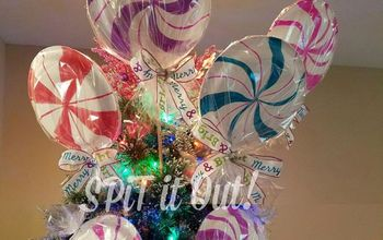 Unicorn SPiT Lollipops/Wrapped Candy/Peppermint Decor or Tree Toppers!