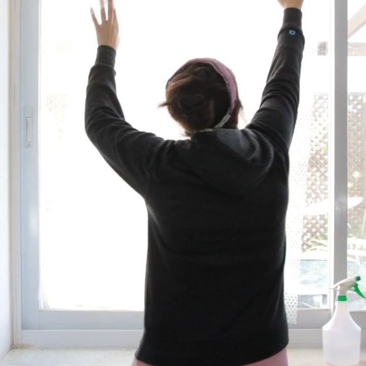 bubble wrap window insulation hack