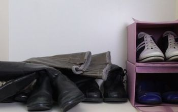 the prettiest way to store your boots
