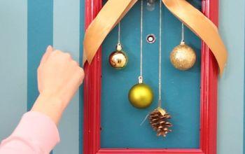 An Elegant and Simplistic Frame Wreath