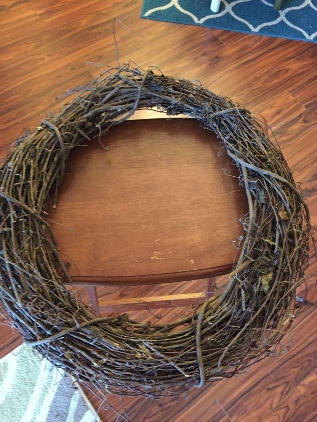 grapevine christmas wreath, crafts, wreaths