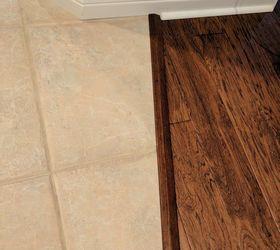 hardwood floor to tile flooris there a better way hometalk