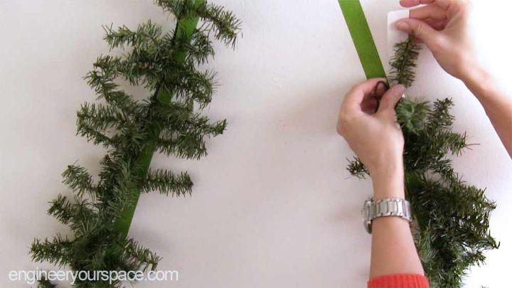 wall mounted christmas tree - Wall Mounted Christmas Tree