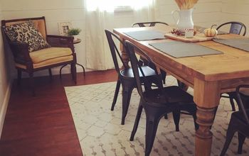 Our Dining Room Makeover - Fixer Upper Inspired