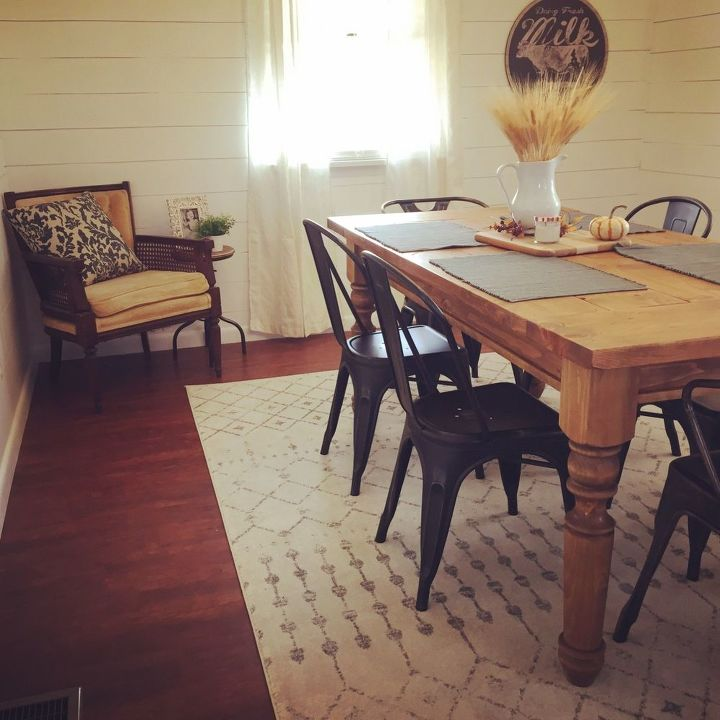 Our Dining Room Makeover Fixer Upper Inspired