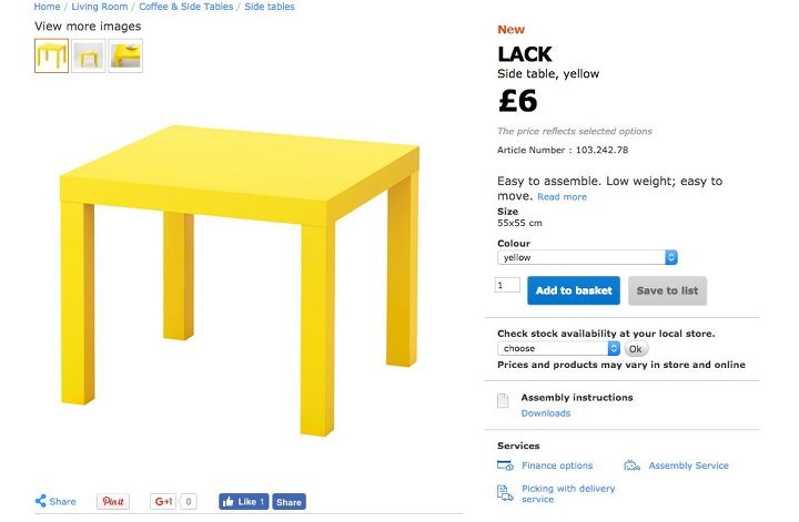 ikea hack lack table to play table, painted furniture