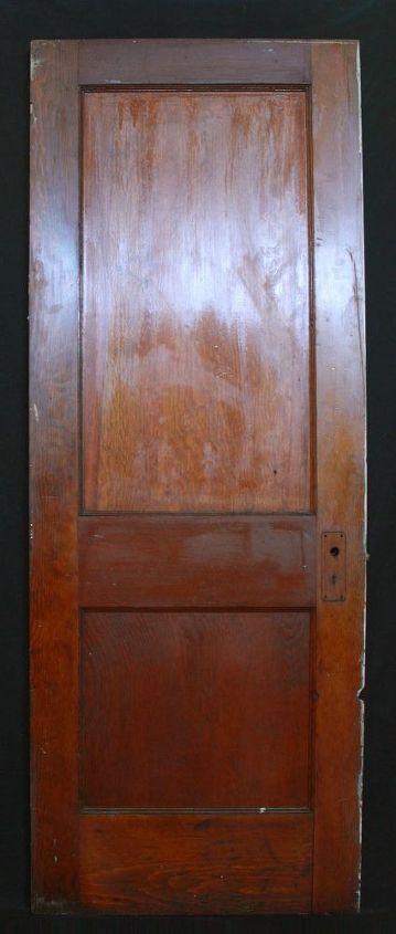 great christmas craft using old vintage wood door, crafts, doors