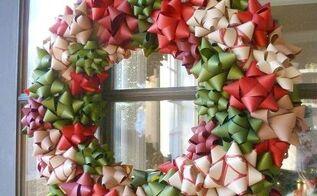 gorgeous christmas bow wreath, crafts, wreaths