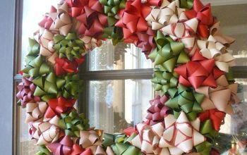 Gorgeous Christmas Bow Wreath