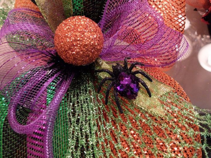 mesh garland diy tips