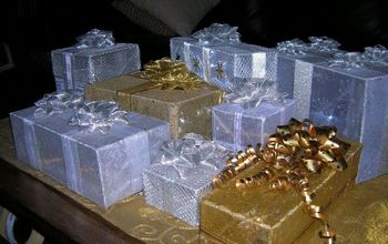 Glowing Christmas Presents