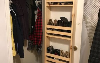 Closet Door Built-In Storage