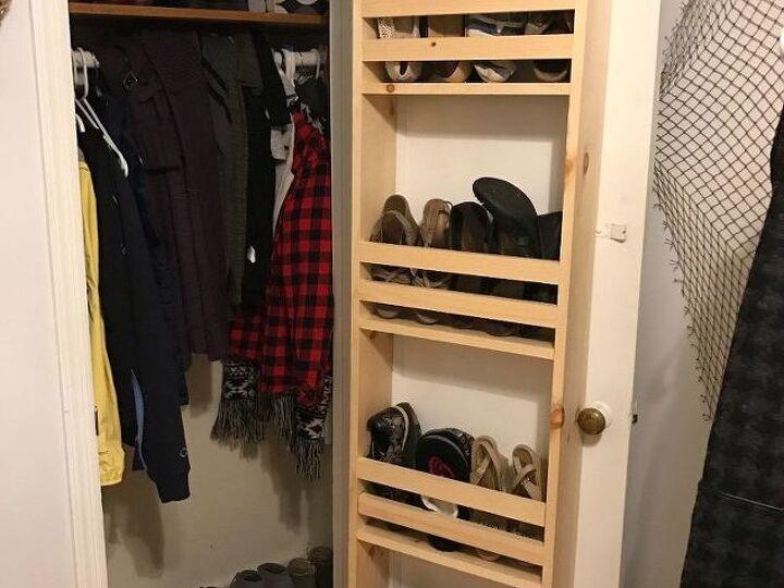 Closet Door Built-In Storage